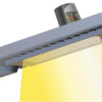 Модуль, установленный на светильнике