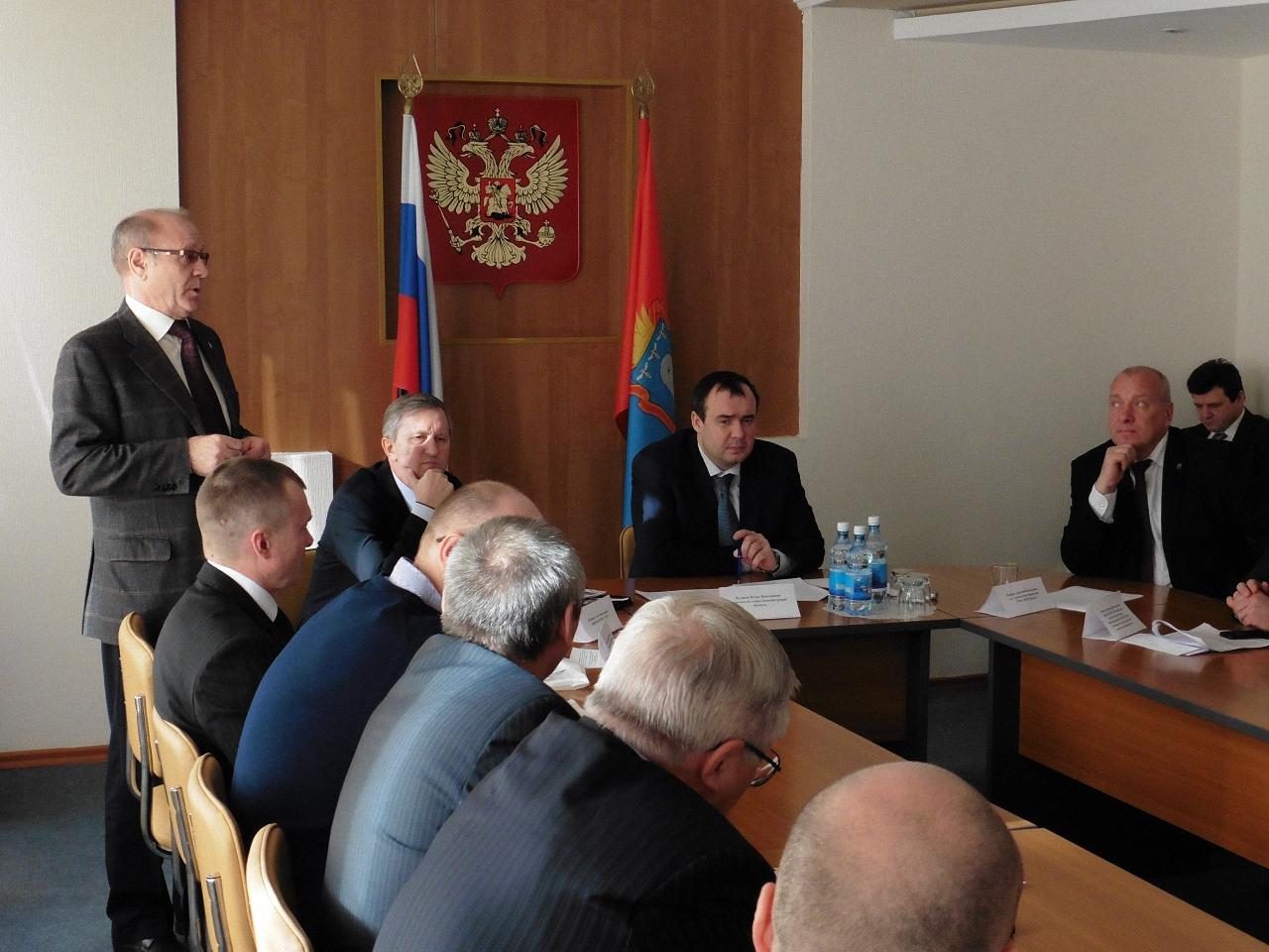 Игорь Николаевич Кулаков, Администрация Тамбовской области, Конференция энергосбережение